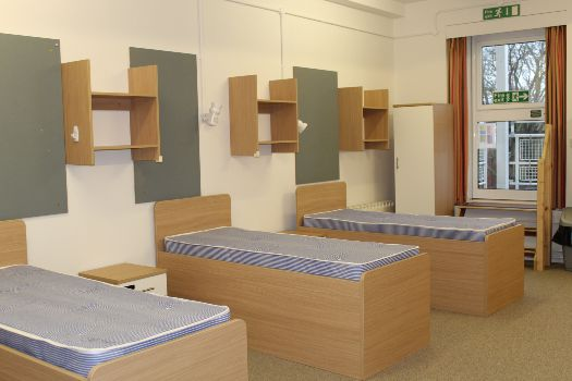 Typical dormitory bedroom at Cheltenham Ladies' College