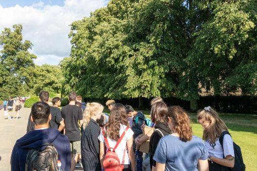 Oxford Spires students on an excursion