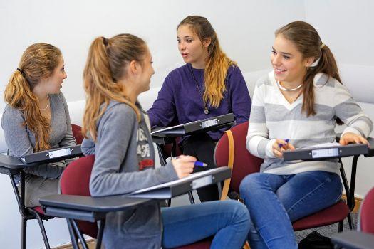 Cheltenham Ladies' College in summer