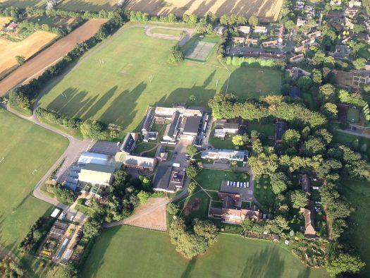 Sibford School aerial shot