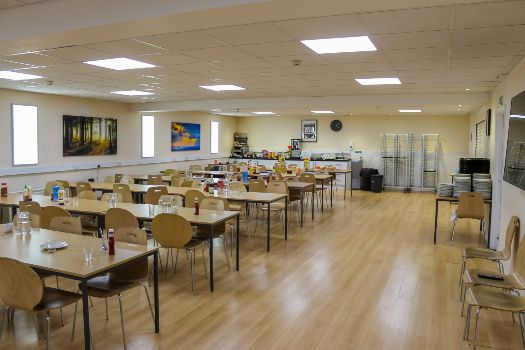 Oxford International College canteen