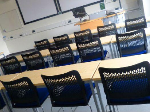 Anglia Ruskin University classroom