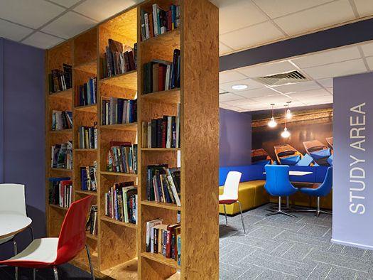 Anglia Ruskin University common room