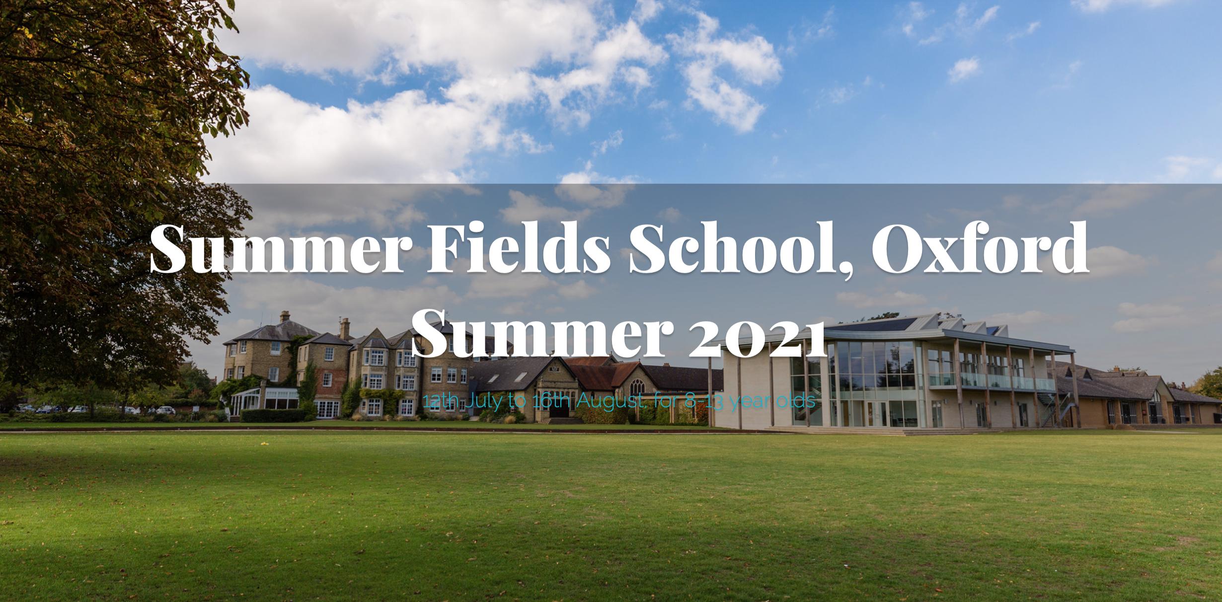 Summer Fields Summer Presentation