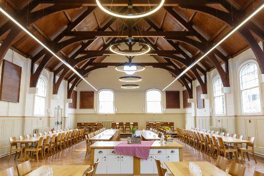 Summer Fields School dining hall