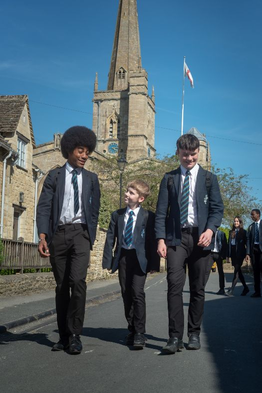 Burdford School pupils